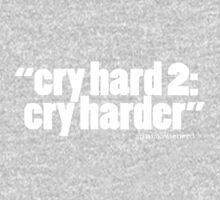 'cry hard 2...' One Piece - Long Sleeve
