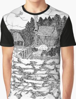 Lake House Graphic T-Shirt