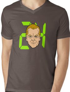 24 Bauers a day Mens V-Neck T-Shirt