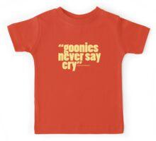 'goonies never say...' Kids Tee