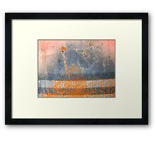 Eruption of the Year of the Dragon Framed Print