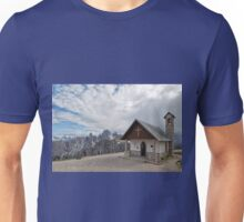 Church at Tre Cime di Lavaredo, Italian Dolomites Unisex T-Shirt