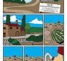 RIP (Agriturismo Riposa in Pace) di D'Antonio/Costa # 1 by CLAUDIO COSTA