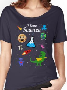 I Love Science Women's Relaxed Fit T-Shirt