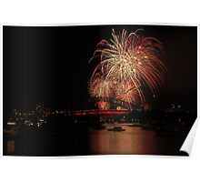Sydney New Years Eve 2012 Family Firework Poster
