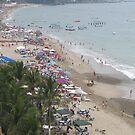 A Part of the 99% Occupied the beach - Una Parte de los 99% Ocuparon La Playa by PtoVallartaMex