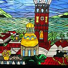 Stained Glass Window - Ventana de Vidrio Enplomado by PtoVallartaMex