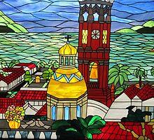 Stained Glass Window - Ventana de Vidrio Enplomado by PtoVallartaMex