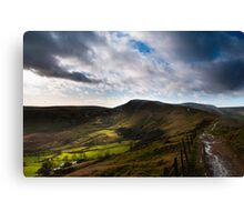 Mam Tor from Hollins Cross Canvas Print