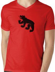 berne bear ours suisse bern Mens V-Neck T-Shirt