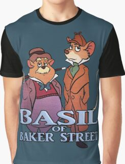 Basil of Baker Street Graphic T-Shirt