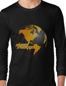 Planet Swagger Gold & Black Long Sleeve T-Shirt