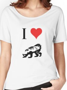 I Love Honey Badger Women's Relaxed Fit T-Shirt
