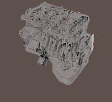 Alfa Romeo 2 liter engine Unisex T-Shirt