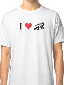 I Love Honey Badger (small) Classic T-Shirt