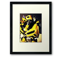 Transformers Bumblebee Toy Framed Print