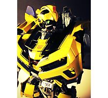 Transformers Bumblebee Toy Photographic Print