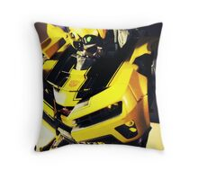 Transformers Bumblebee Toy Throw Pillow