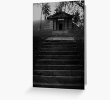 Cemetery Steps Greeting Card
