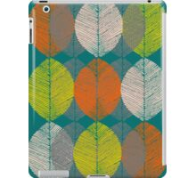 Autumn Leaves (Teal) iPad Case/Skin