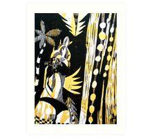 Jamaican Bootie Art Print