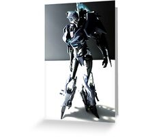 Transformers Prime Arcee Toy Greeting Card