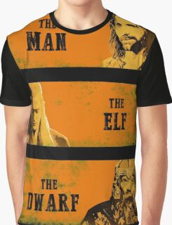 The Man The Elf The Dwarf Graphic T-Shirt
