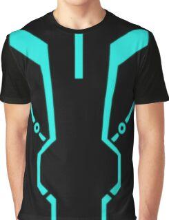Blue Tronic Graphic T-Shirt