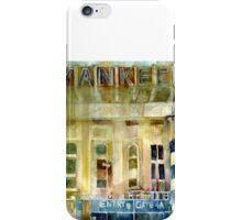 Yankee Stadium, Bronx, New York Art Watercolor Print iPhone Case/Skin