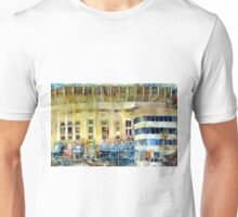 Yankee Stadium, Bronx, New York Art Watercolor Print Unisex T-Shirt