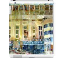 Yankee Stadium, Bronx, New York Art Watercolor Print iPad Case/Skin