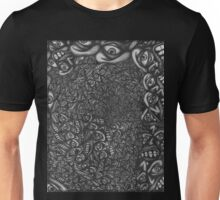 Facepage 04 - Psychedelic faces  Unisex T-Shirt
