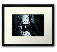 Steps from the past Framed Print