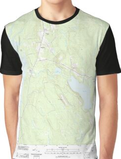 Maine USGS Historical Map Eastbrook 20110909 TM Graphic T-Shirt