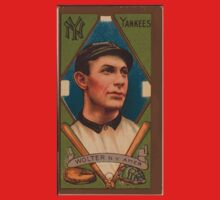 Benjamin K Edwards Collection Harry Wolter New York Yankees baseball card portrait Baby Tee