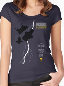 THE BLACK KNIGHT RETURNS Women's Fitted Scoop T-Shirt