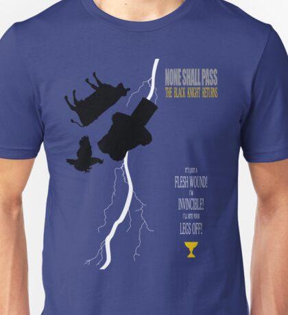 THE BLACK KNIGHT RETURNS Unisex T-Shirt