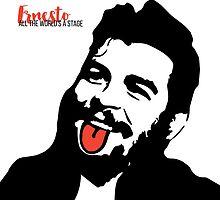 Ernesto Che Guevara Tongue Art by deificusArt