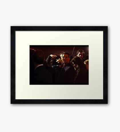 Mr Tom Cruise Framed Print