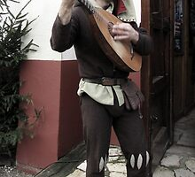 Rob, the Minstrel by Hans Bax