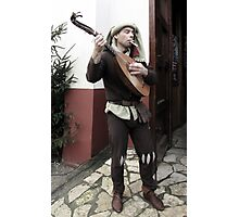 Rob, the Minstrel Photographic Print