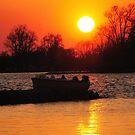 Sunset at the Lake by jckiss