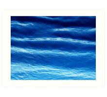 Caribbean blue Art Print
