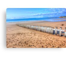 Torquay Main Beach Canvas Print