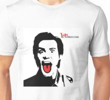 Jim Carrey Tongue Art Unisex T-Shirt