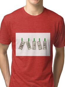 Laundered Money Tri-blend T-Shirt