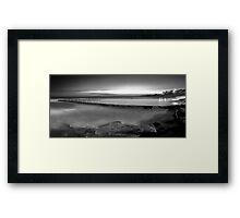 Shelly Beach Tidal Pool - Cronulla Framed Print