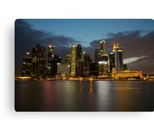 Singapore by the Sky Canvas Print
