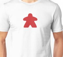 Red Meeple Unisex T-Shirt