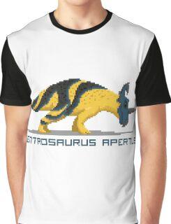 Pixel Centrosaurus Graphic T-Shirt